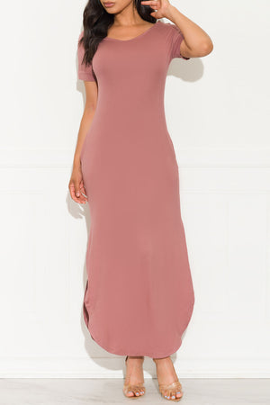Always Wanted Maxi Dress Mauve