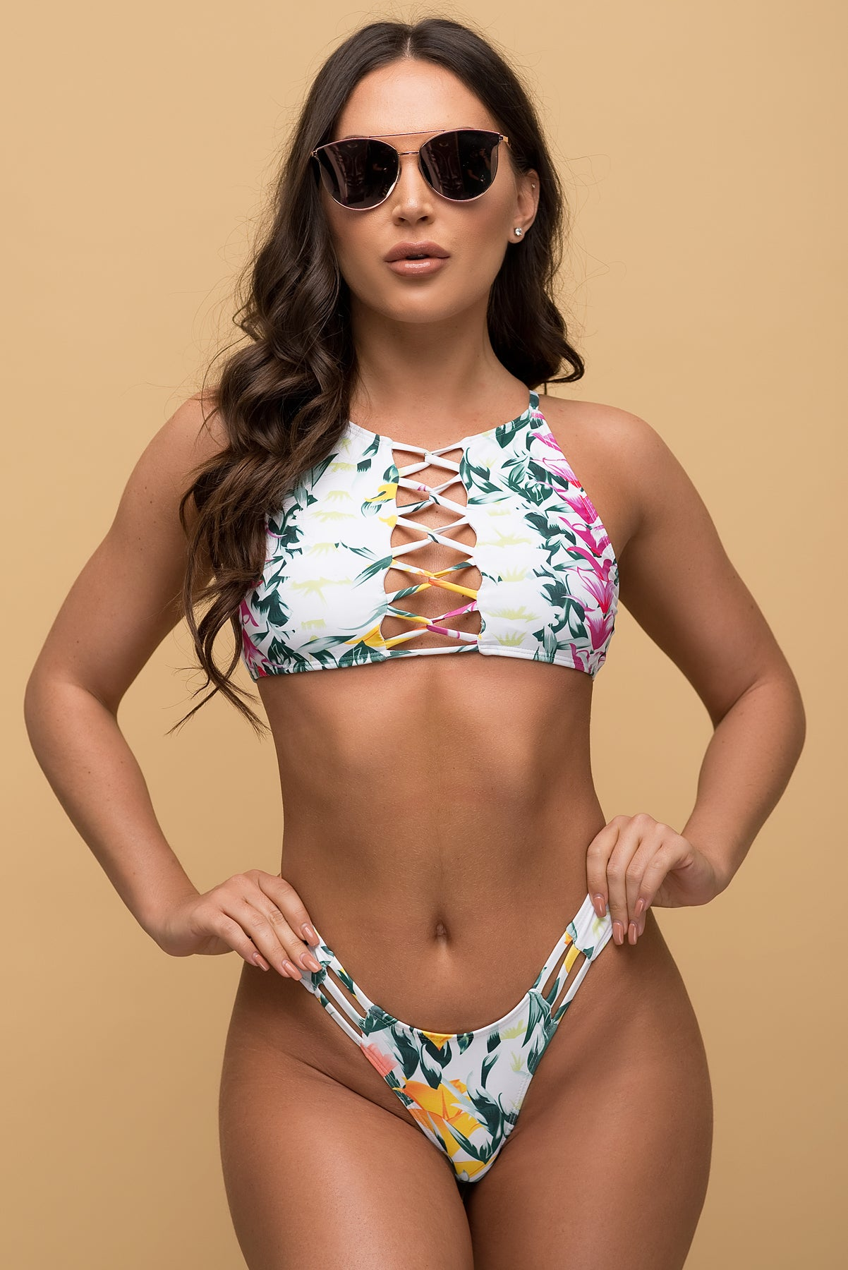 Newport Beach Two Piece Swimsuit