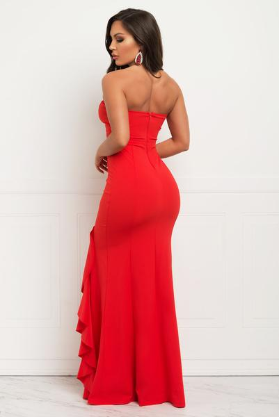Megan Dress - Red