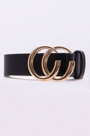 Be My Guest Black Gold Belt