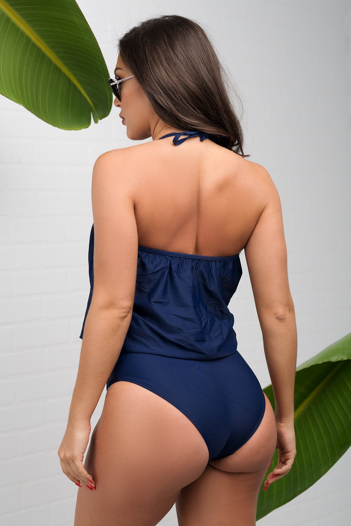 a9ae89ab7b11f Varadero Two Piece Swimsuit - Navy – Fashion Effect Store