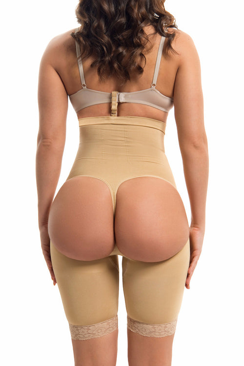 High Waisted Body Shaper & Butt Lifter NUDE -RESTOCKED - Fashion Effect Store  - 2