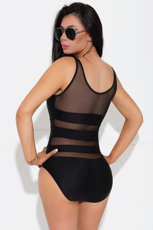 Christy Black One Piece