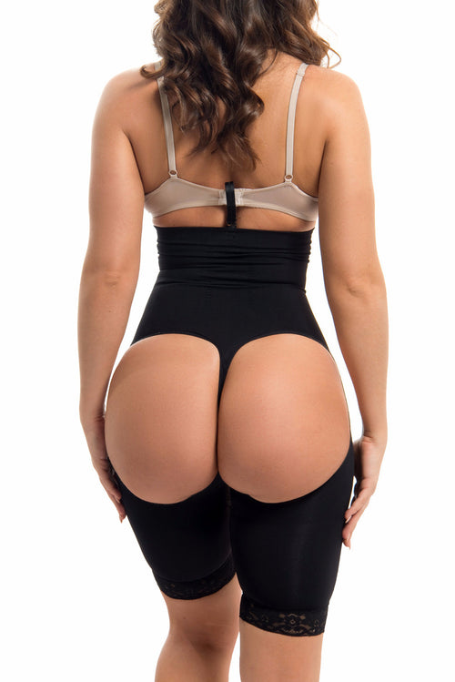 High Waisted Body Shaper & Butt Lifter BLACK -RESTOCKED - Fashion Effect Store  - 2