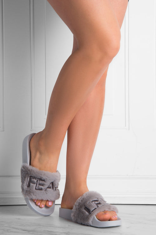 Fearless Gray Sandals - Fashion Effect Store  - 1