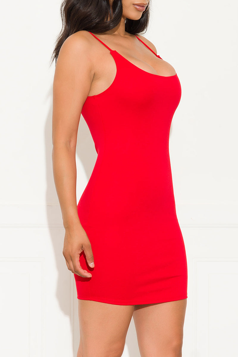 Beauty Game Dress Red