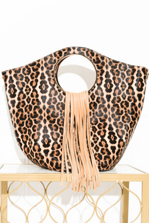I Could Be Yours Animal Print Medium Bag