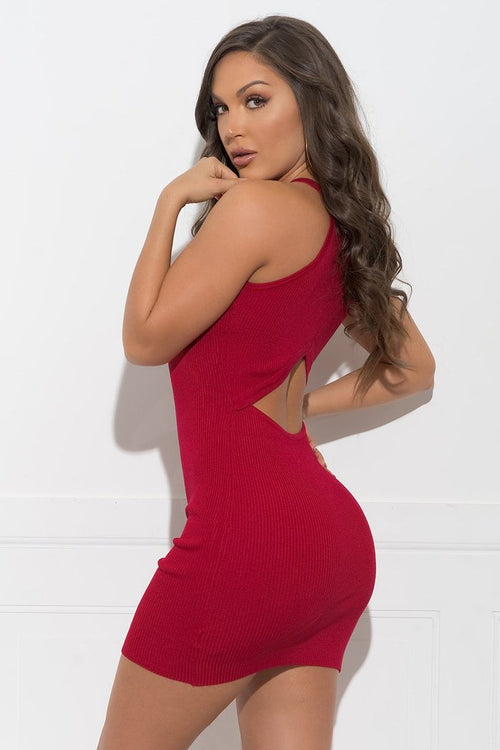 Brielle Dress - Red