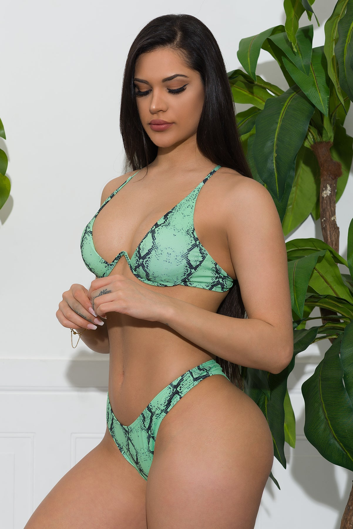 Turtle Bay Swimsuit- Green