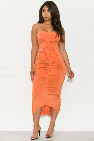 Summer Crush Dress - Orange
