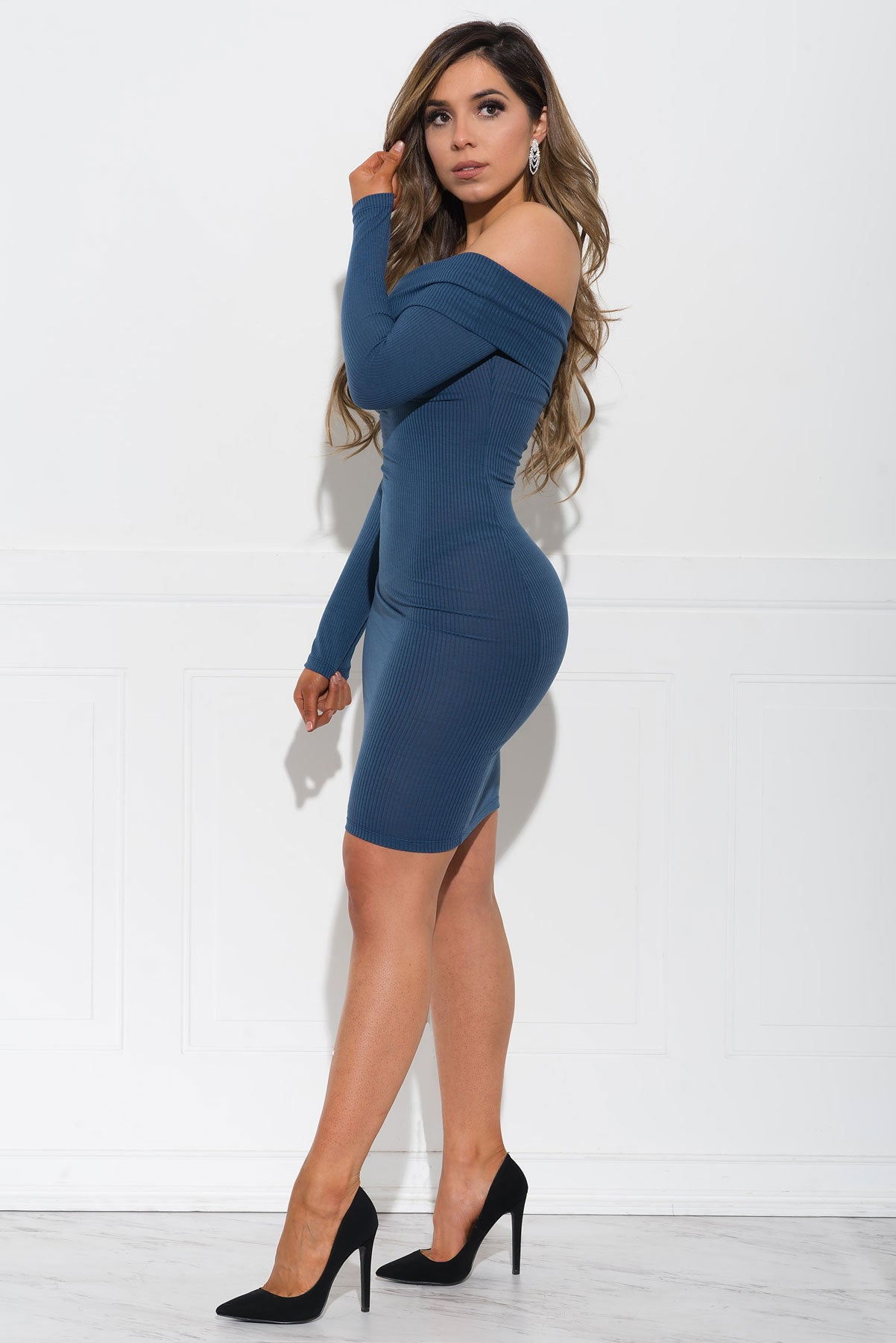 Cameryn Dress - Blue