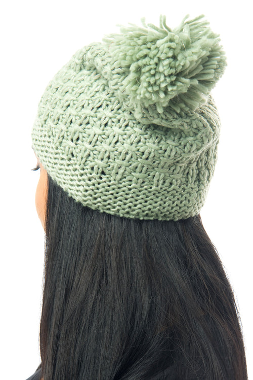 Mindy Mint Beanie - Fashion Effect Store  - 2