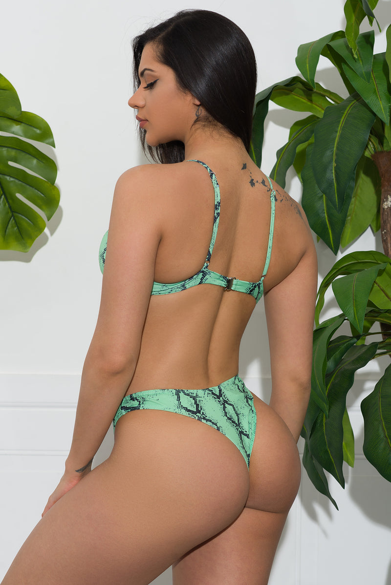 Turtle Bay Swimsuit Green