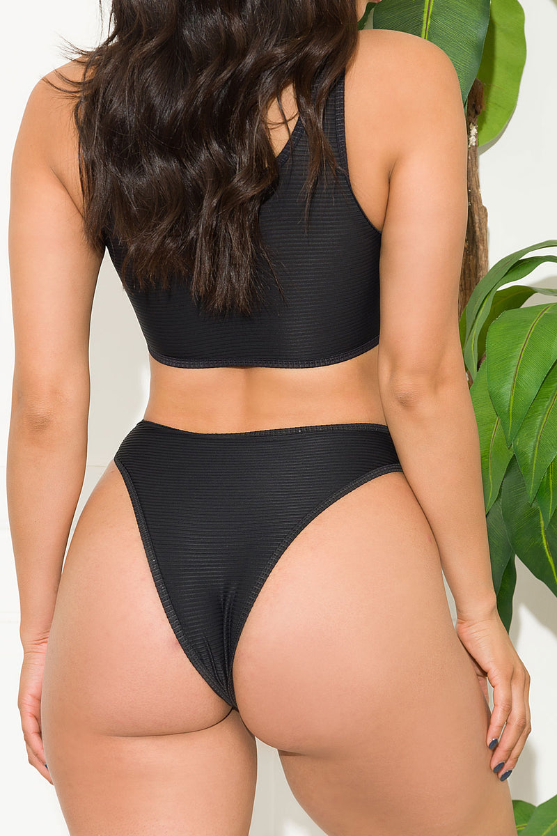 St Andrews Two Piece Swimsuit Black