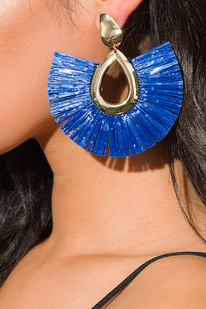 My Everything Earrings Blue