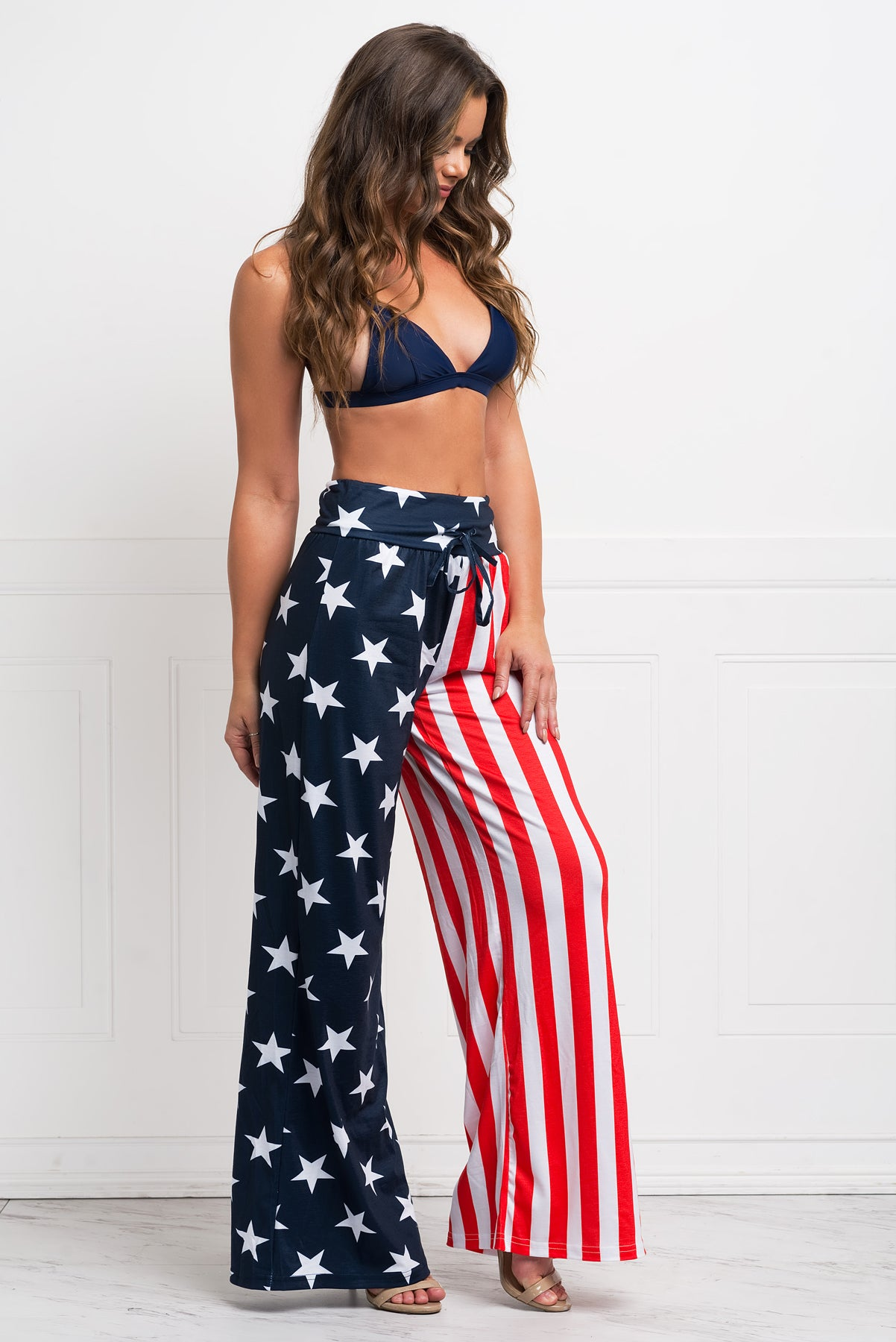 Flag Cover up/ Beach Pants