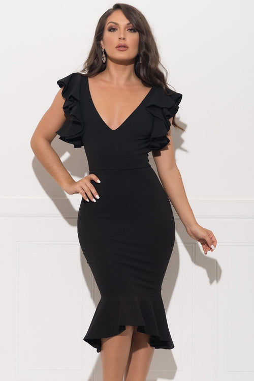 Baylee Dress - Black