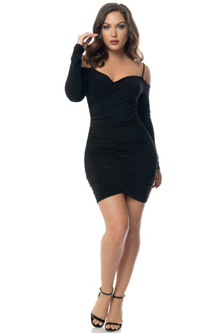 Emily Black  Dress - Fashion Effect Store  - 1