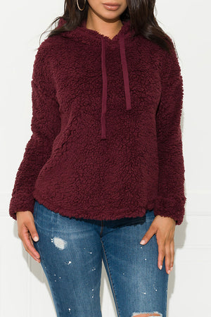 Non-Stop Sweater Burgundy