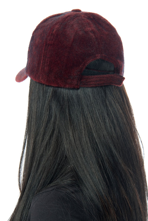 Mindy Burgundy Cap - Fashion Effect Store  - 2
