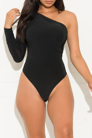 Keep It Classy Bodysuit Black