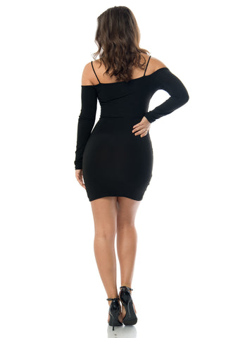 Emily Black  Dress - Fashion Effect Store  - 2