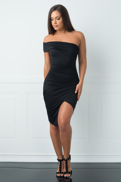 Dannia Black Dress -RESTOCKED