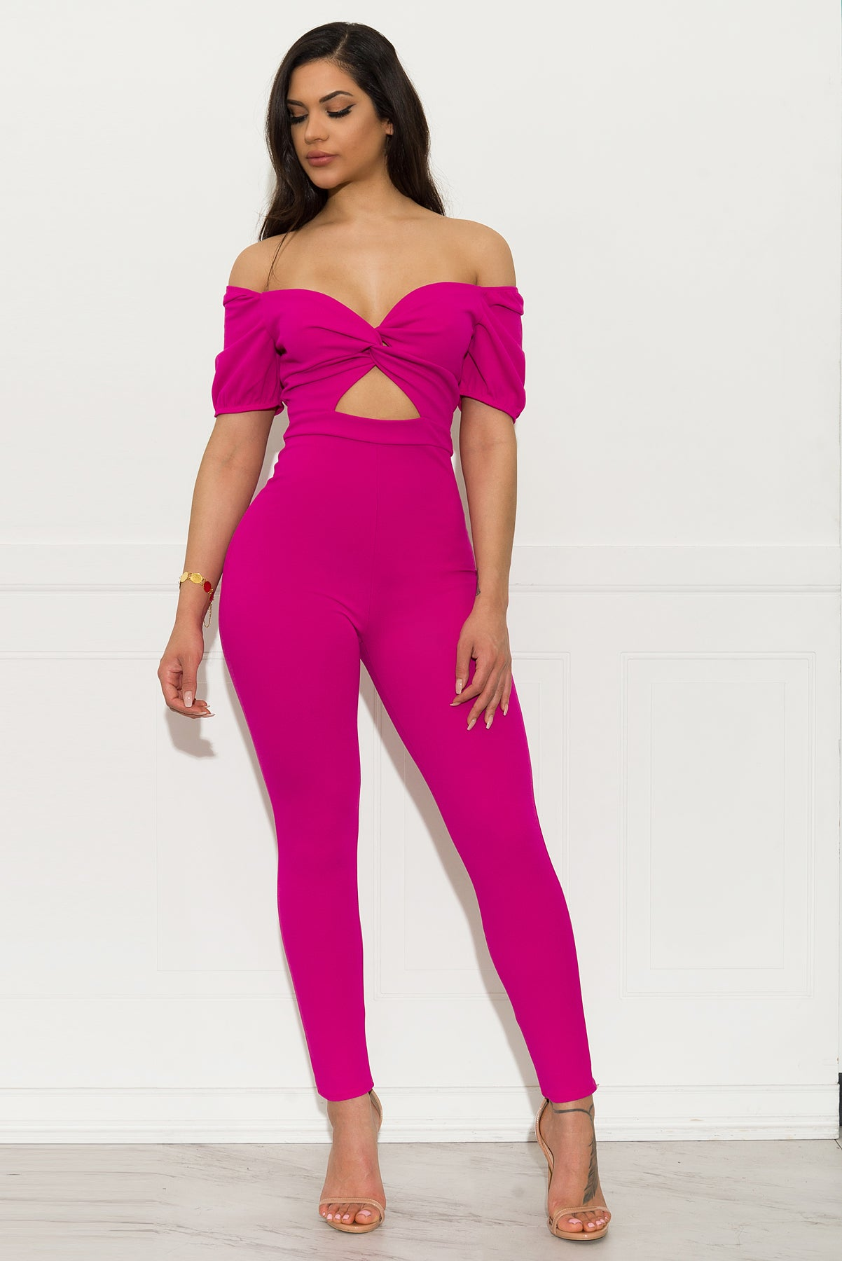Vicky  Jumpsuit - Hot Pink