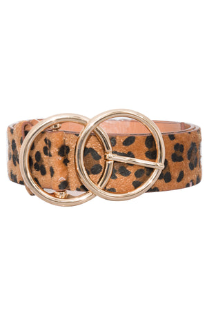 Be My Only Belt Animal Print