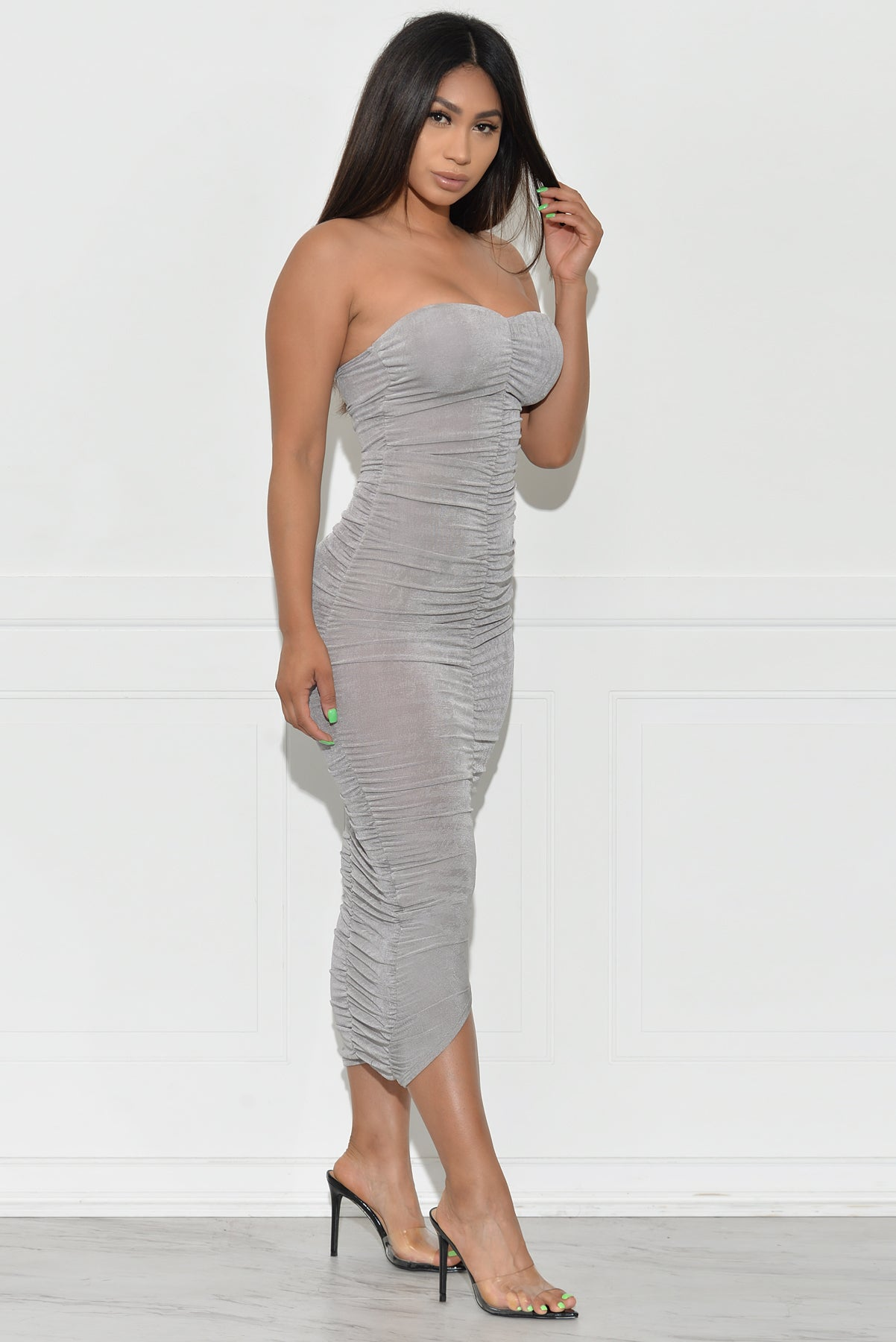 Summer Crush Dress - Silver