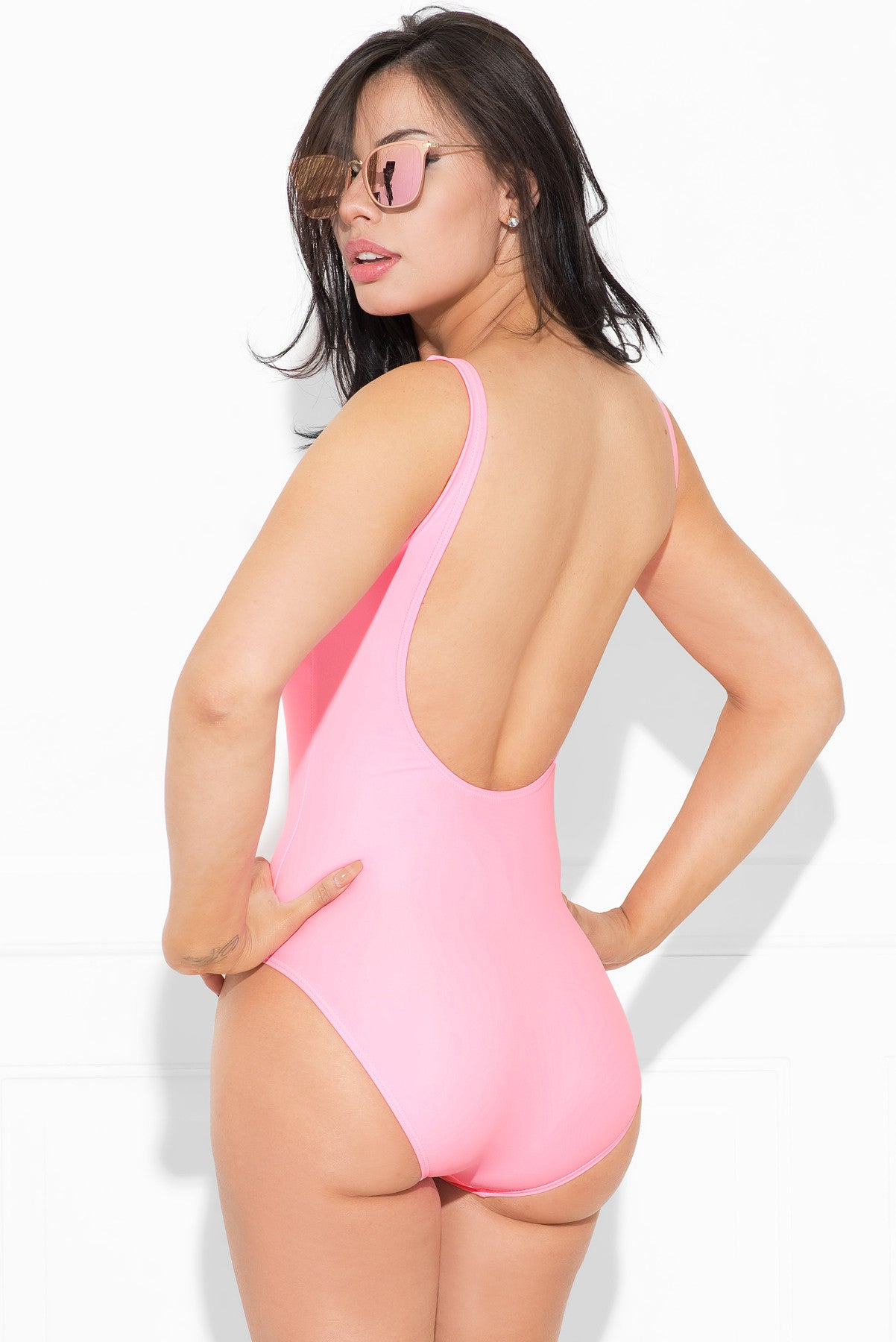 Barbie One Piece Swimsuit- Pink