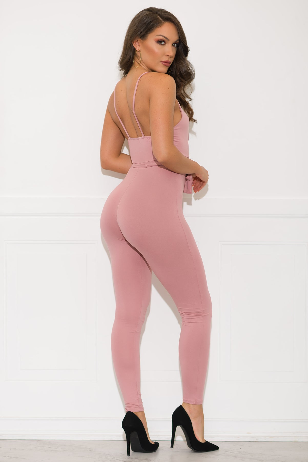 Yanet Jumpsuit- Dusty Pink
