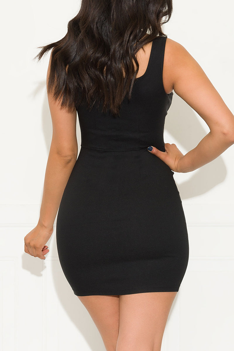 Impulsive Dress Black
