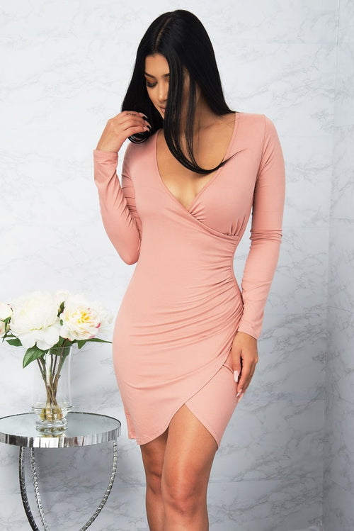 Sadie Dress - Blush