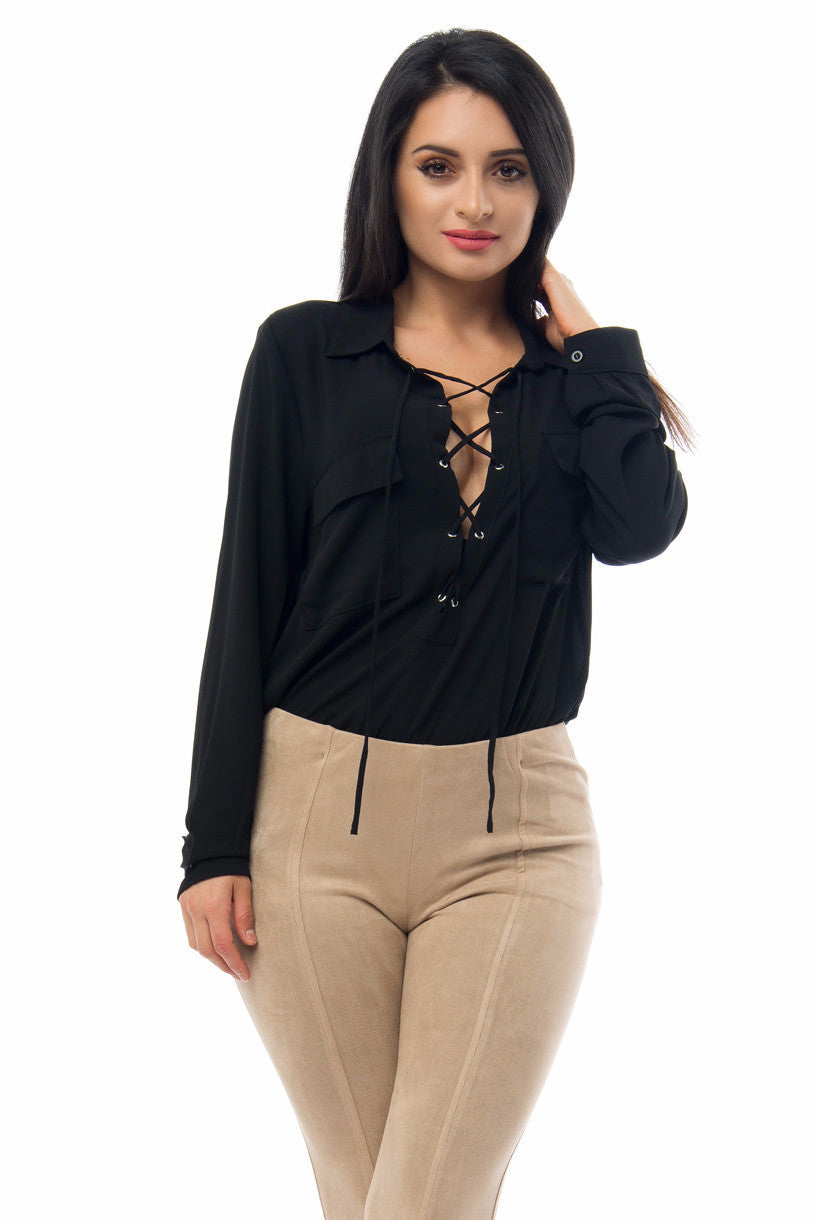 RESTOCK Tinna Blouse - Fashion Effect Store  - 3