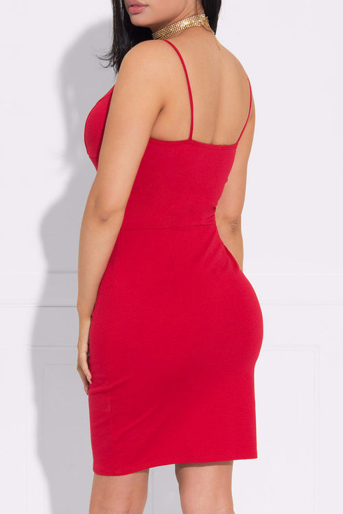 Radiant Beauty Dress Red