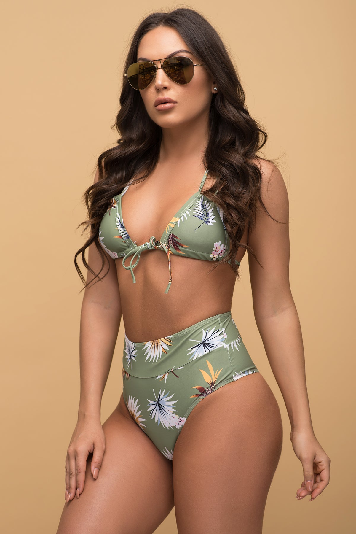 Sunset Beach Two Piece Swimsuit