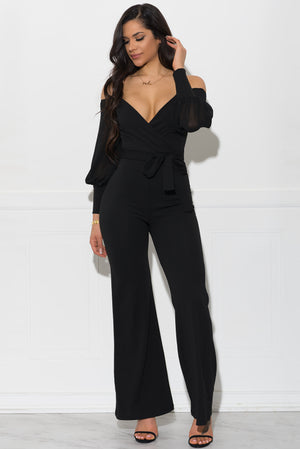 Lyric Jumpsuit - Black