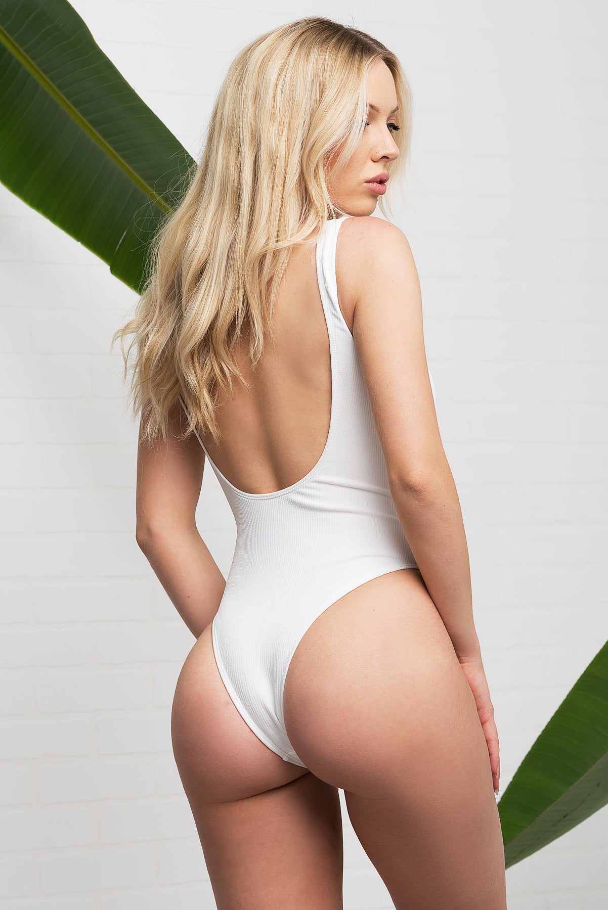 PARADISE COVE Swimsuit - White