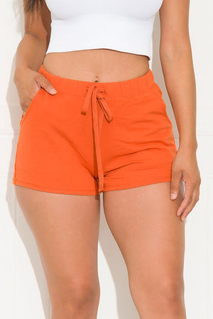 Just Comfy Short Orange