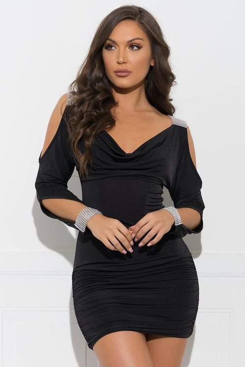 Ciara Dress - Black