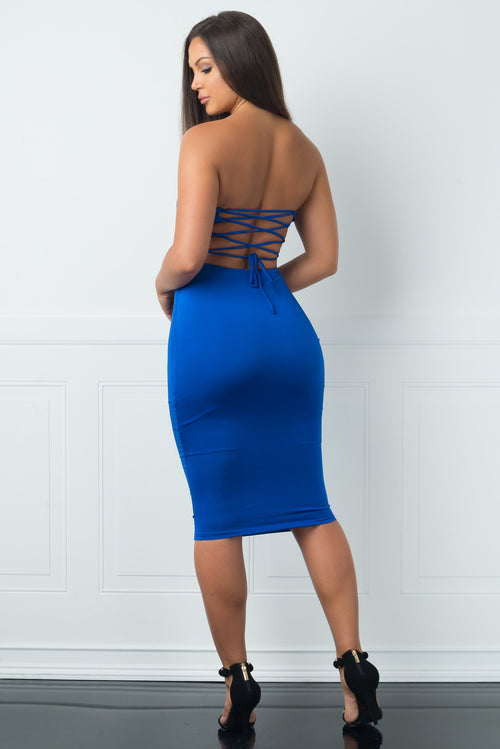 Khloe Royal Blue Dress
