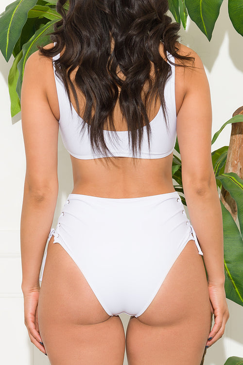 Jervis Bay Two Piece Swimsuit White