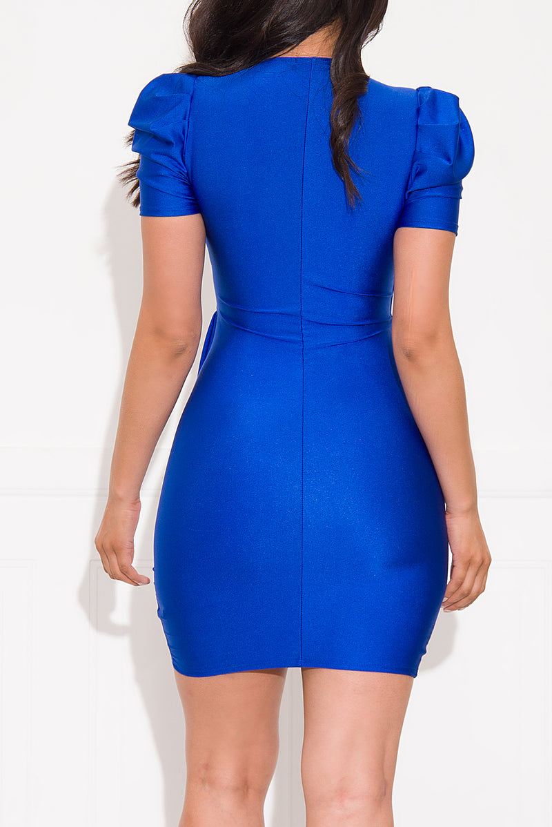 Close To You Dress Royal Blue