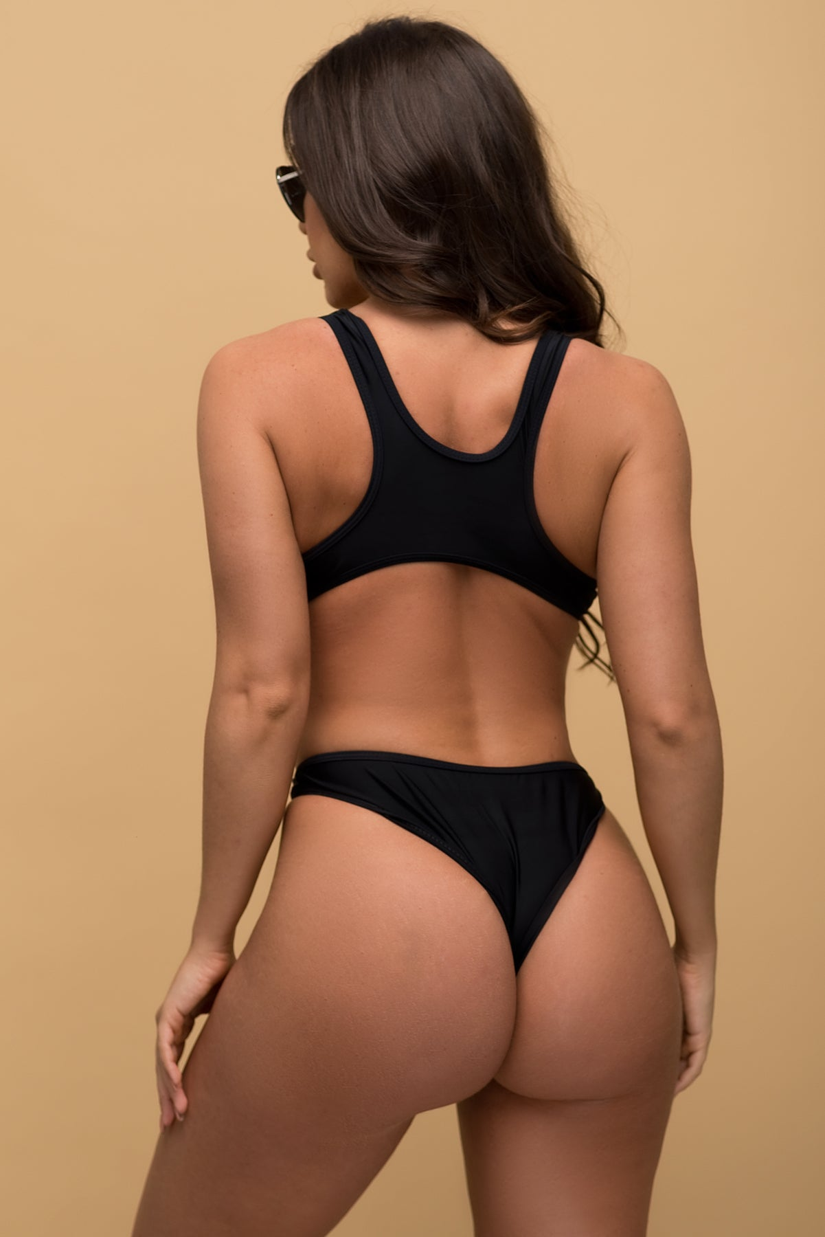 Imperial Beach Monokini - Black