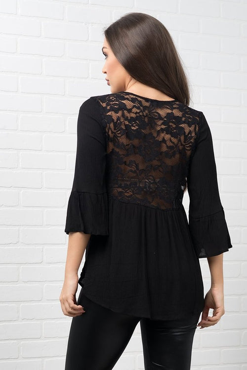 Weslyn Blouse - Black