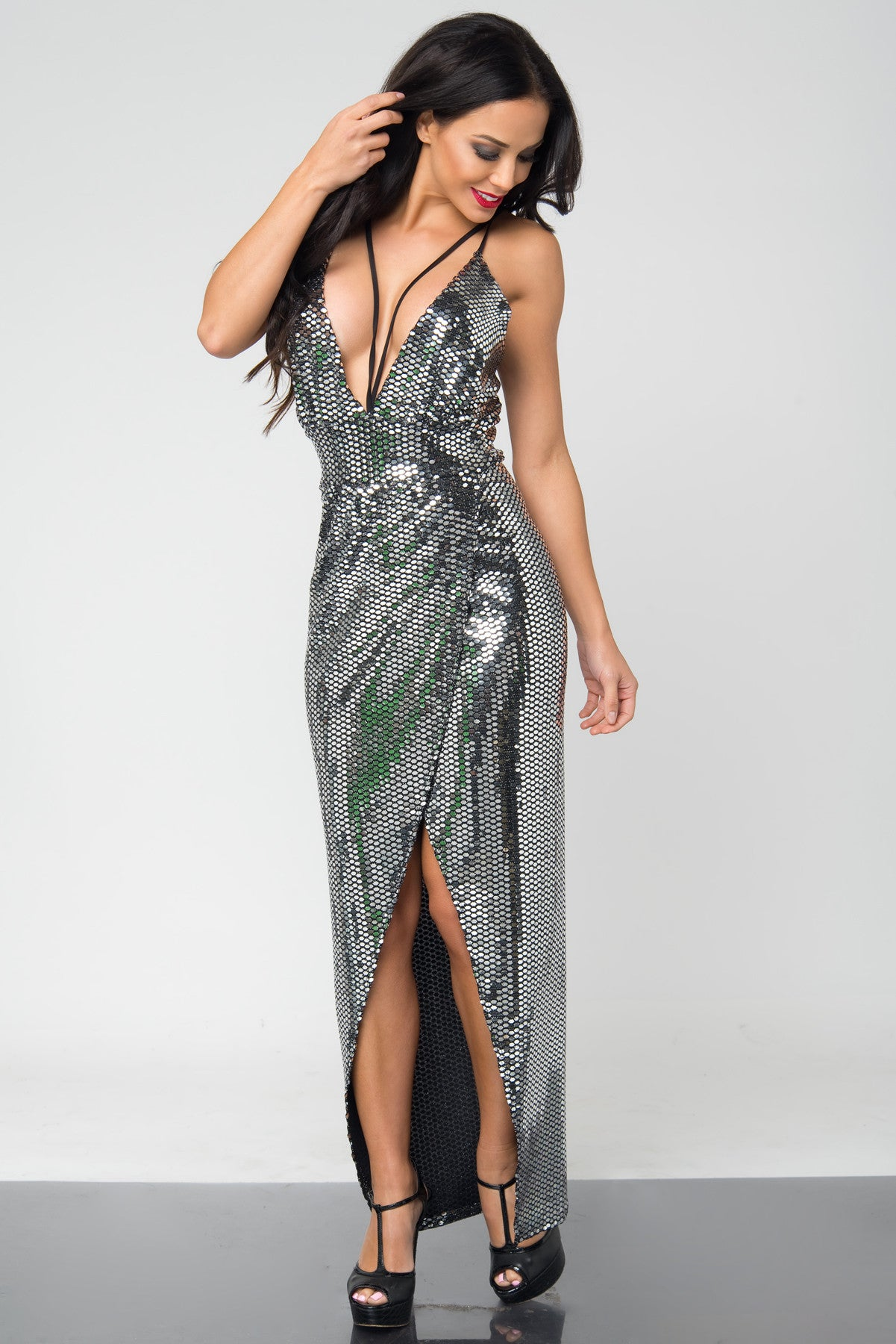 Kendra Sequin Dress - Fashion Effect Store  - 2