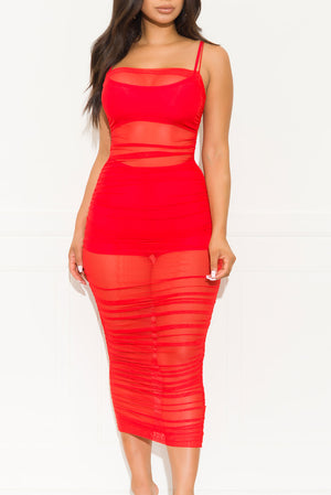 Limited Edition Dress Red
