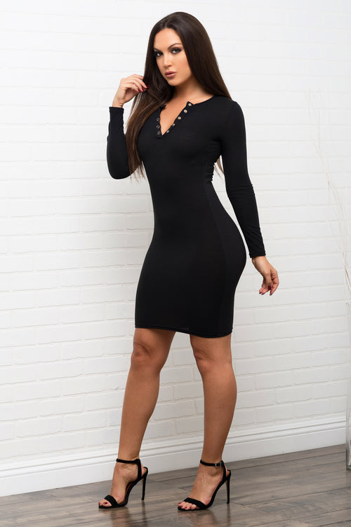 Fanny Dress - Black
