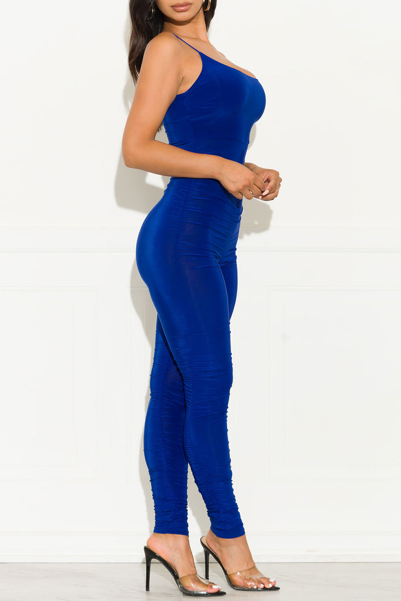 Perfect Control Jumpsuit Royal Blue